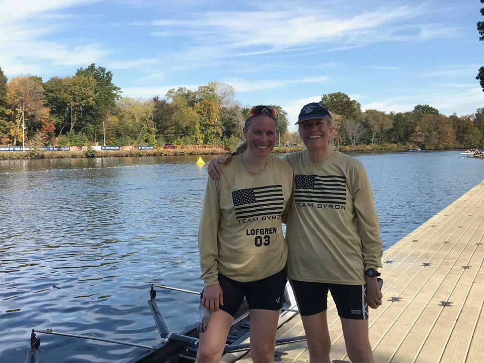 Esther and Christine Lofgren compete in the Head of the Charles Regatta for a second time together in 2017.